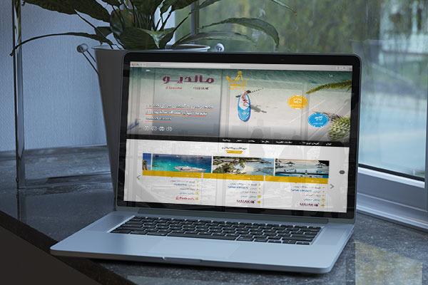 طراحی سایت گردشگری نیوان