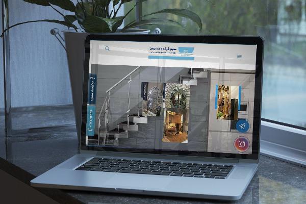 طراحی سایت شیشه و آینه اردلان