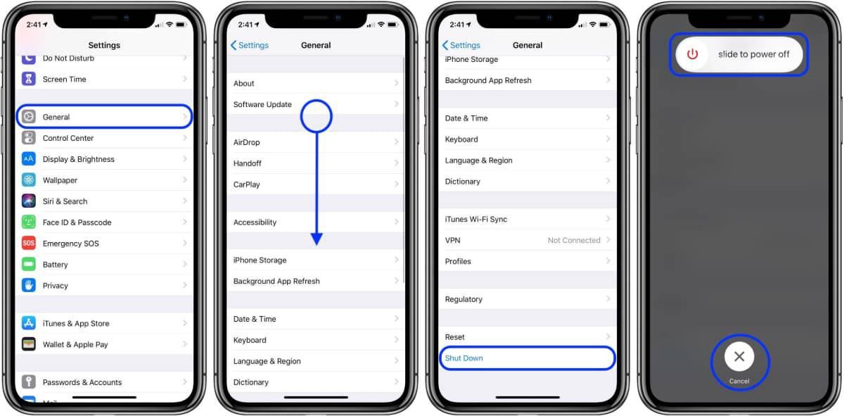 خاموش و روشن کردن آیفونهای اپل بدون دکمه پاور!